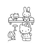 Hello kitty da colorare 67