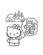 Hello kitty da colorare 68