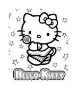 Hello kitty da colorare 78