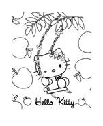 Hello kitty da colorare 80