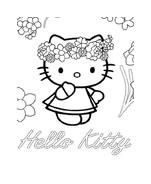 Hello kitty da colorare 81