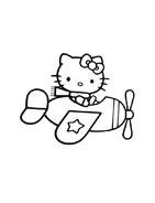 Hello kitty da colorare 83
