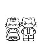 Hello kitty da colorare 90
