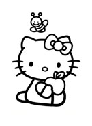 Hello kitty da colorare 91