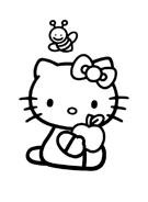 Hello kitty da colorare 91