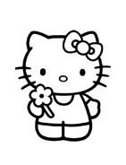 Hello kitty da colorare 94
