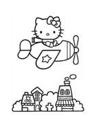 Hello kitty da colorare 95