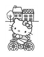 Hello kitty da colorare 101