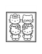 Hello kitty da colorare 102