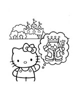 Hello kitty da colorare 119