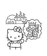 Hello kitty da colorare 119