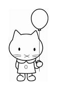 Hello kitty da colorare 128