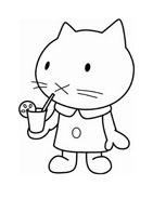Hello kitty da colorare 130