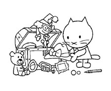 Hello kitty da colorare 131
