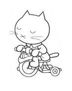 Hello kitty da colorare 133