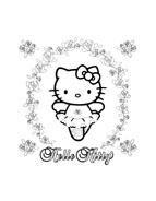 Hello kitty da colorare 134