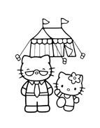 Hello kitty da colorare 136