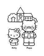Hello kitty da colorare 137