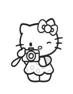 Hello kitty da colorare 141