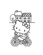 Hello kitty da colorare 150