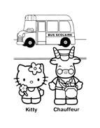 Hello kitty da colorare 162