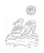 Uccello da colorare 174