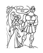 Hercules da colorare 12
