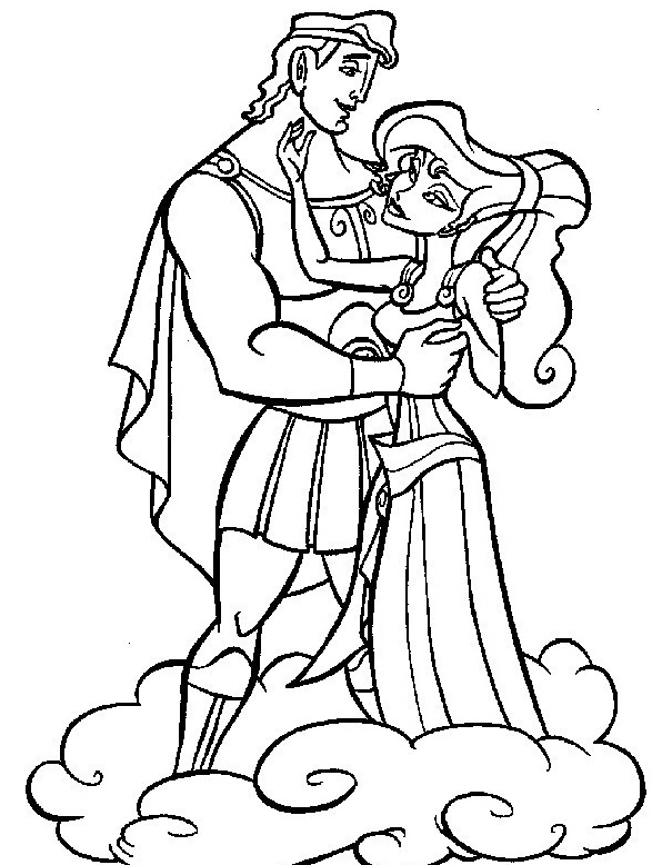 Hercules da colorare 13