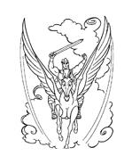 Hercules da colorare 15