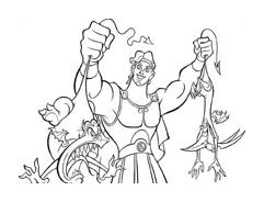 Hercules da colorare 20