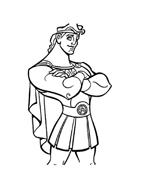 Hercules da colorare 60