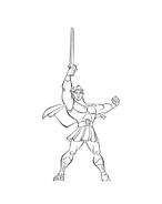 Hercules da colorare 65