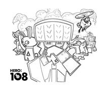 Hero108 da colorare 3