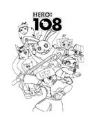 Hero108 da colorare 9