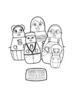 Higglytown heroes da colorare