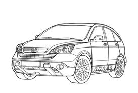 Automobile da colorare 274