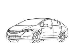 Automobile da colorare 275