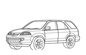 Automobile da colorare 276