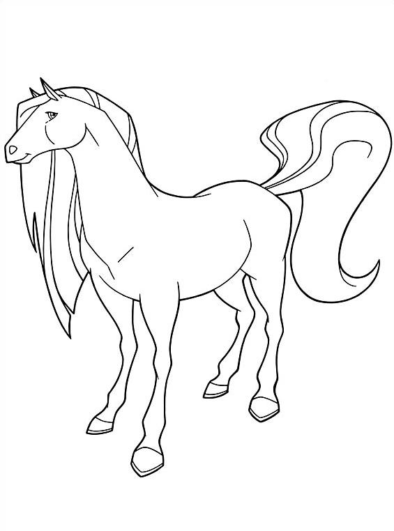 Horseland da colorare 22