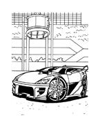 Hot wheels da colorare 49