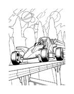 Hot wheels da colorare 64