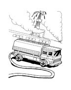 Hot wheels da colorare 80