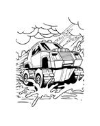 Hot wheels da colorare 93