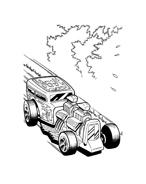 Hot wheels da colorare 105