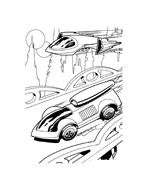 Hot wheels da colorare 109