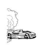 Hot wheels da colorare 112