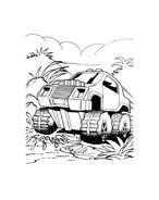 Hot wheels da colorare 117