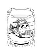 Hot wheels da colorare 123