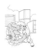 Hulk da colorare 9