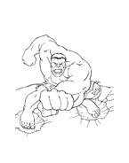 Hulk da colorare 16